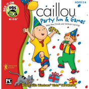 Caillou Party Fun and Games Software [Old Version]