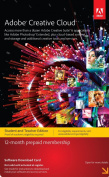 Adobe Creative Cloud Student and Teacher Edition Prepaid Membership 12 Month