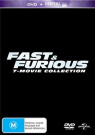 Fast and Furious (7-Movie Collection)  [Region 4]