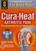 Cura Heat Arthritis Pain For Knee Pain 4 Ready To Use Heat Packs x 3 Packs