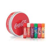 Lip Smacker Coca Cola Flavoured Lip Balm Collection in Coke Tin