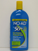 NO-AD SPF50+ Sun Protection TWIN PACK 2 x 500ml