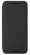 Retro Fold Folio Flip PU Leather Full Protection Case Cover For HTC One M9 with Screen Protector Black