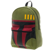 Star Wars Boba Fett Face Green Backpack