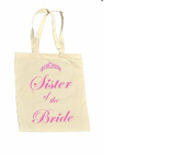 Sister of the BRIDE 100% Cotton Bag #6