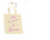 Grandmother of the GROOM 100% Cotton Bag #1