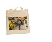 Shar Pei DOG 100% Cotton Bag(FC) #219