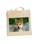 Shiba Inu DOG 100% Cotton Bag(FC) #222