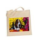 Basset GRAND Vendeen DOG 100% Cotton Bag(FC) #21