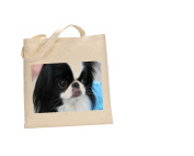 Japanese Chin DOG 100% Cotton Bag(FC) #150