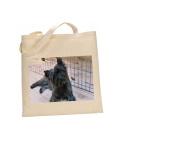 Cairn Terrier DOG 100% Cotton Bag(FC) #54