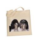 Shih tzu DOG 100% Cotton Bag(FC) #224