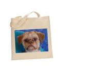 Shih tzu DOG 100% Cotton Bag(FC) #223