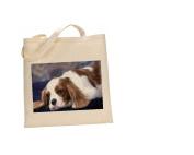 King Charles Spaniel DOG 100% Cotton Bag(FC) #152