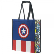 Bioworld Marvel Captain America Large Shopper Tote