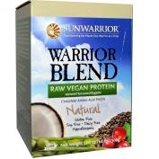 Warrior Blend, Raw Vegan Protein, Natural, 520ml (500 g) - Sun Warrior