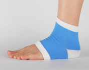 Gel Heel Protection Socks - Relieves Pain by Reducing Friction Over the Heel