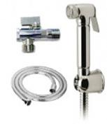 Douche Bidet Shower Spray Kit Chrome/Metal Alli Type