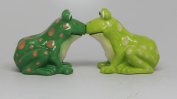 Salt & Pepper Shakers Set - FROGS New Ceramic Kitchen Gifts 9488