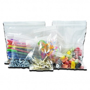 1000 x Grip Seal Pro Plast Branded ® Resealable Poly Bags 5.7cm x 7.6cm GL2