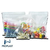 500 x Grip Seal Pro Plast Branded ® Resealable Poly Bags 3.8cm x 6.4cm GL0