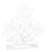 Pluto Produkter Leaf White Napkin Holder