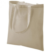 New Unisex Unique Machine Washable Easy Dry Handy Cotton Promotional Shoppers Bag Natural One Size