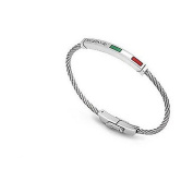 ROYAL BAR BRACELET GREEN CINT ACC LONG WHITE AND RED