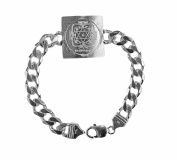 Ganesh Yantra Bracelet 925 Sterling Silver Blessed And Energised