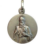 "925 Sterling Silver "" Saint Jude Thaddeus "" Medal"