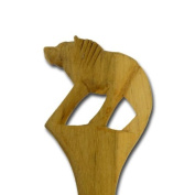 "Salad servers ""Animal Handles"", lion"