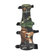 MagiDeal 1pc Archery Arm Guard Protection 4 Straps Camouflage