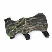 MagiDeal 1pc Archery Arm Guard Protection 3 Straps Camouflage