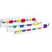 Learning Resources Wooden Attribute Beads Activity Cards