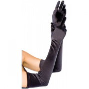Gleader Long Satin Opera Gloves for dress up, cosplay, photo props
