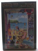 Jumbo Games Falcon de Luxe Through The Beach Hut Door Jigsaw Puzzle