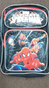 Backpack - Marvel - Spiderman Activity Black Large School Bag New us24754