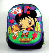 Backpack - Kai Lan - Ni Hao Purple Flowers Large School Bag New 259166