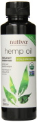 Nutiva, Organic Superfood, Hemp Oil, Cold Pressed, 8 fl oz