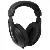 Essentials HP-2 Pro Hi-Fi Headphones With 6.3mm Jack Cable - Black