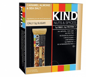 Kind Snacks Kind Nuts & Spices Caramel Almond & Sea Salt - 12 Bars