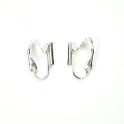 3 x Pairs Pierced to Clip-On Earring Converters - Silver Plated