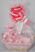 New Baby Girl Gift Hamper - Pink