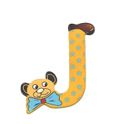 "Legler ""J"" Bear's Head Letter Children's Furniture"