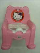 Baby Potty Trainer Potty Training Seat Chair Pink With Removable Potty Pot New
