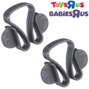 . Travel Safety Bag Clips - for Pram Pushchair Buggy Stroller etc.