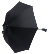 Universal Baby Parasol To Fit Bugaboo Cameleon Bee Donkey Buffalo Black