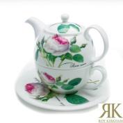 Roy Kirkham Redoute Rose Tea for One Teapot