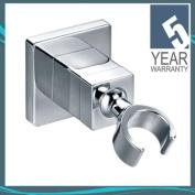 Pura Chrome Square Bathroom Hand Shower Swivel Wall Bracket ACC6038