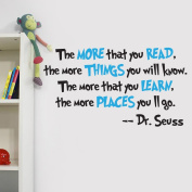 Dr Seuss The More You Read Quote